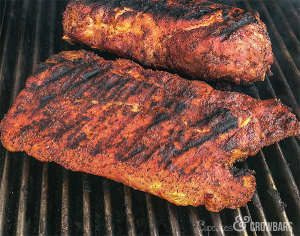 Delicious Dry Rub Grilled Ribs | Cupcakes&Crowbars @cupcakescrowbar