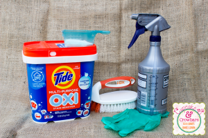 Holy Grail of Cleaning, Thy Name is Tide OXI via http:///www.cupcakesandcrowbars.com @cupcakescrowbar