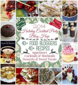 2014 Cocktail Party Blog Hop | http://www.cupcakesandcrowbars.com @cupcakescrowbar