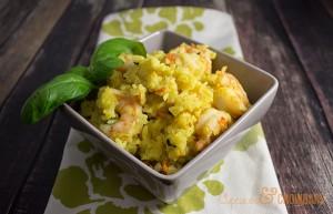 Curried Shrimp and Rice | CupcakesAndCrowbars @cupcakescrowbar