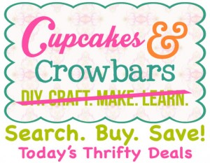 Today's Thrifty Deals  Cupcakes&Crowbars @cupcakescrowbar