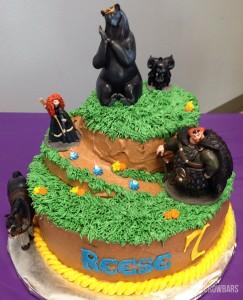 Brave Themed Birthday Cake | Cupcakes&Crowbars