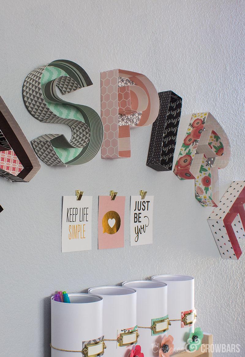 craft_3d_paper_inspire_wall_art_DIY_5